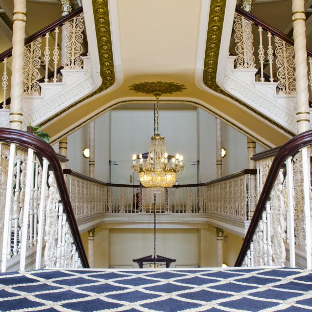 """Britannia Hotel, Manchester"" stock image"