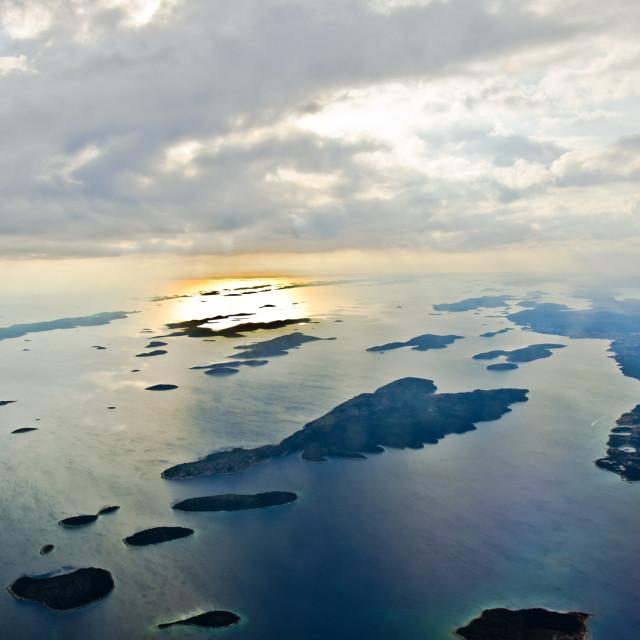 """Croatian islands"" stock image"