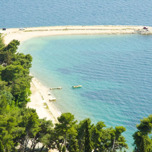 """Beach in Split, Croatia"" stock image"