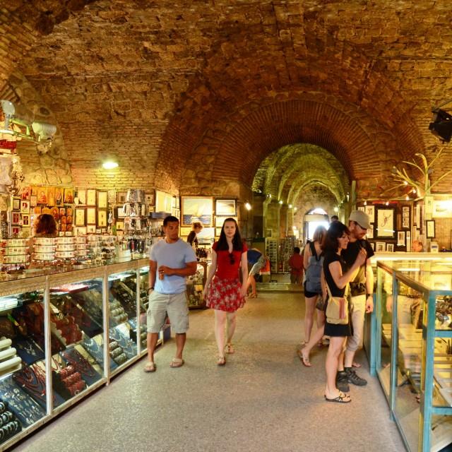 """""""Bazaar, Split, Croatia"""" stock image"""