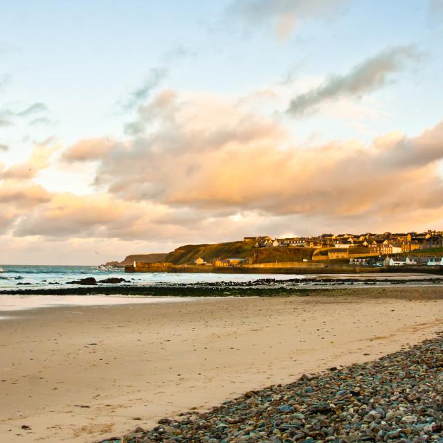 """Cullen beach"" stock image"