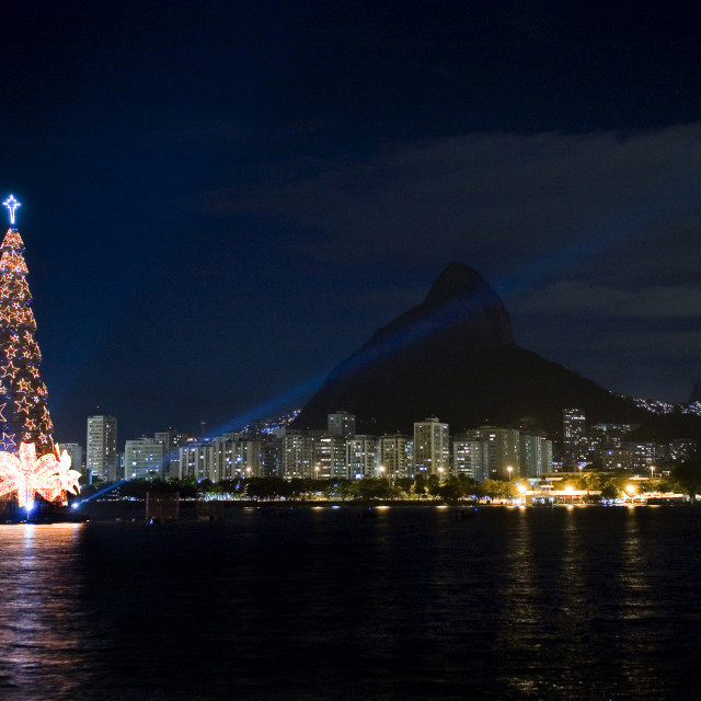 """Christmas in Rio"" stock image"