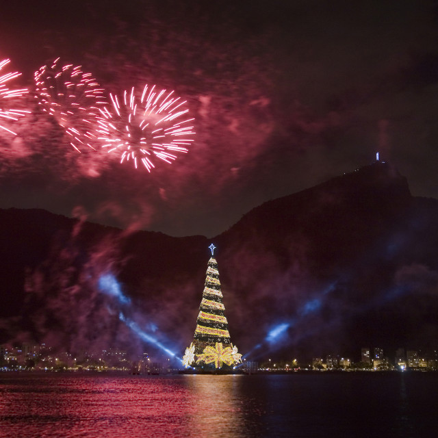 """Christmas in Rio 6"" stock image"
