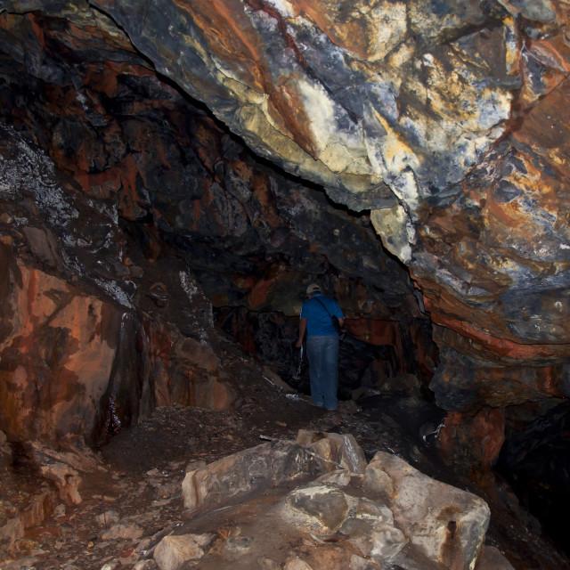 """""""Guasucarán Mine"""" stock image"""