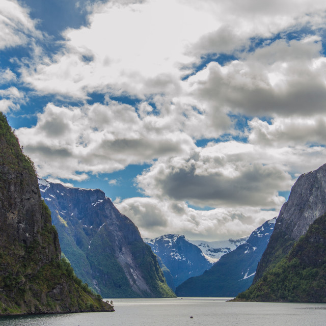 """Pining for the fjords"" stock image"
