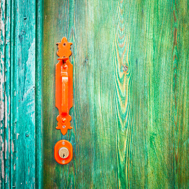 """Door handle"" stock image"