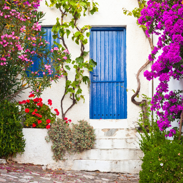 """Village in Greece"" stock image"