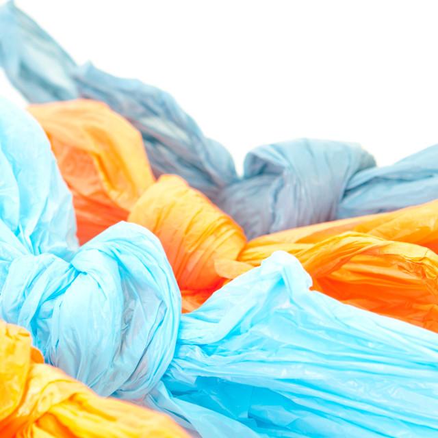 """Plastic bags"" stock image"