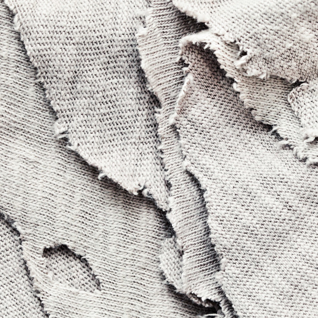"""Torn fabric"" stock image"