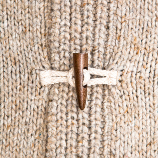 """Wooly jumper toggle"" stock image"