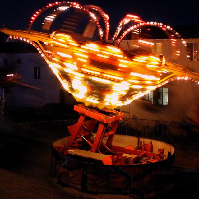 """Spinning Lights"" stock image"