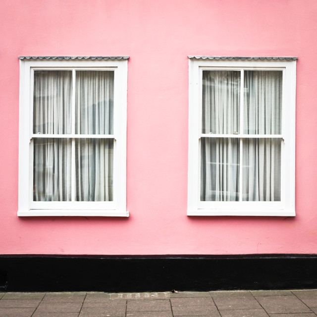 """""""Pink House"""" stock image"""