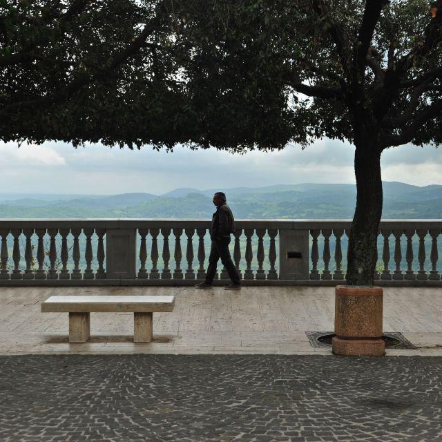"""terrazza a Tolfa"" stock image"