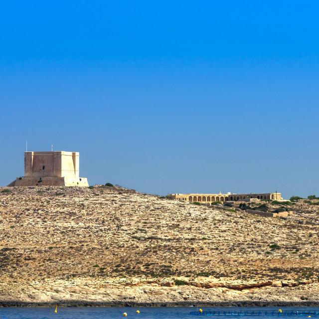 """""""Malta, Comino"""" stock image"""