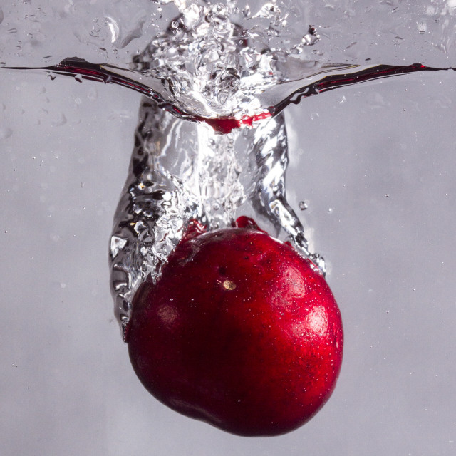 """Cherry Splash"" stock image"