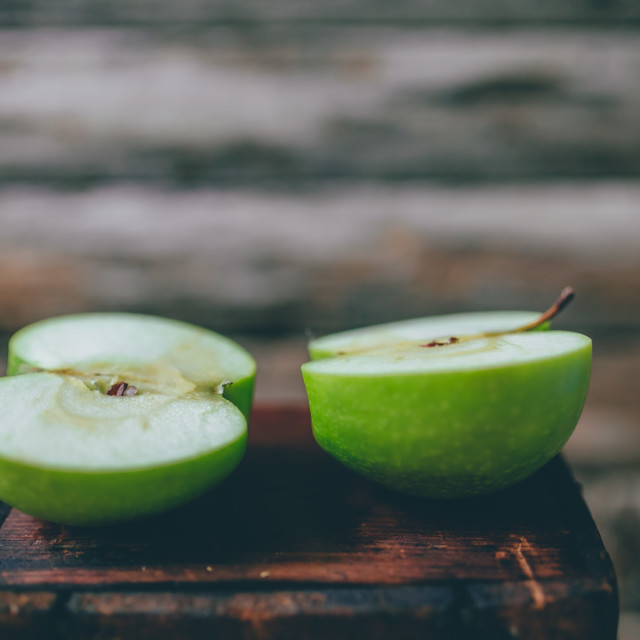 """Green apple"" stock image"
