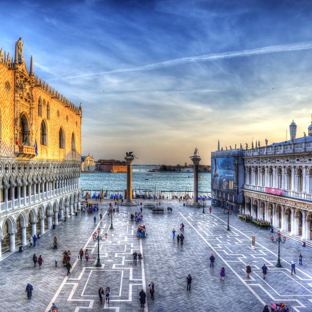 """Piazza San Marco - Venezia"" stock image"