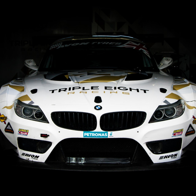 """BMW Z4 GT3"" stock image"