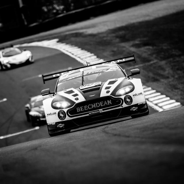"""Aston Martin GT3"" stock image"