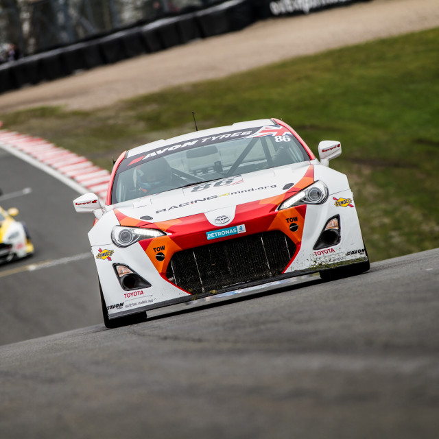 """""""Toyota GT86 GT4"""" stock image"""