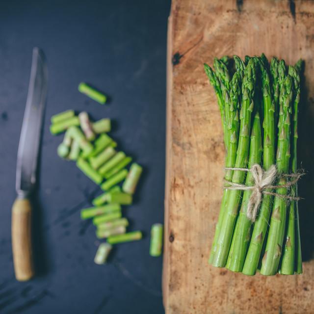"""Asparagus"" stock image"