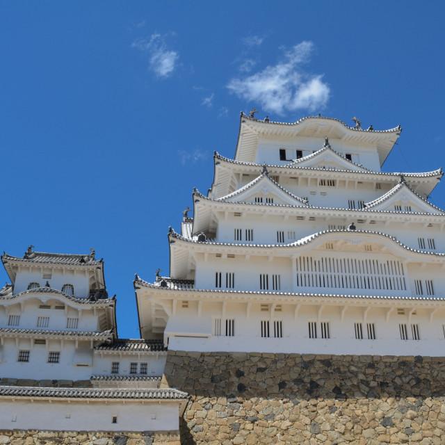 """Himeji Castle"" stock image"