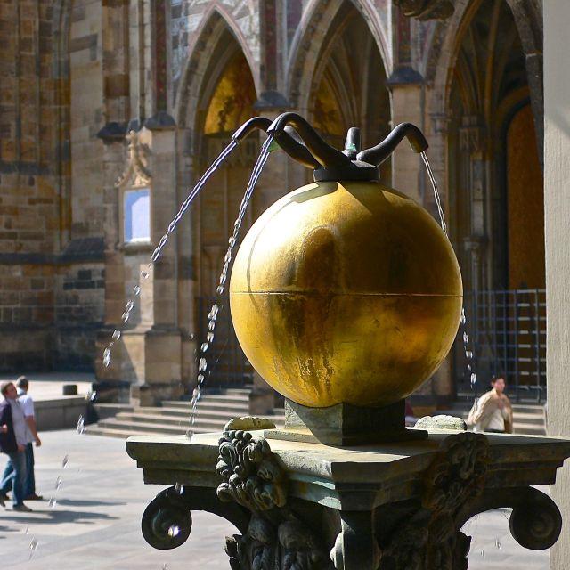 """""""Fontanella al Castello di Praga"""" stock image"""
