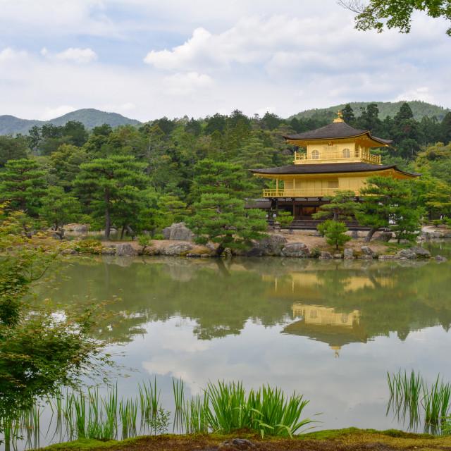 """""""Kinkaku-Ji temple in Kyoto"""" stock image"""