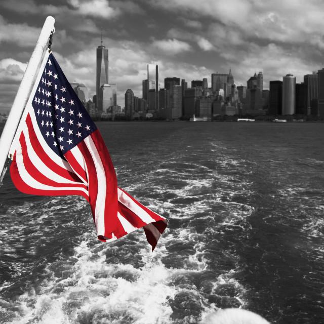 """""""NYC, USA"""" stock image"""