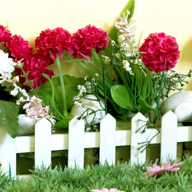 """Miniature Garden"" stock image"