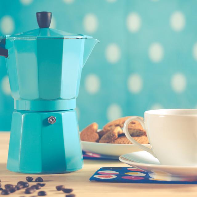 """Vintage coffee"" stock image"