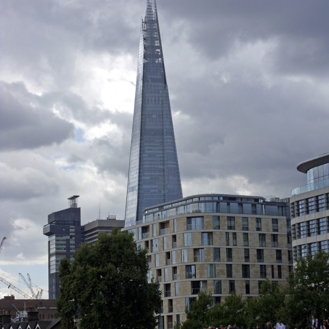 """The Shard Building, London"" stock image"