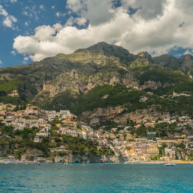 """Positano sea"" stock image"