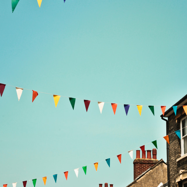 """Bunting"" stock image"
