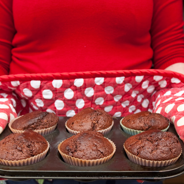 """muffins"" stock image"