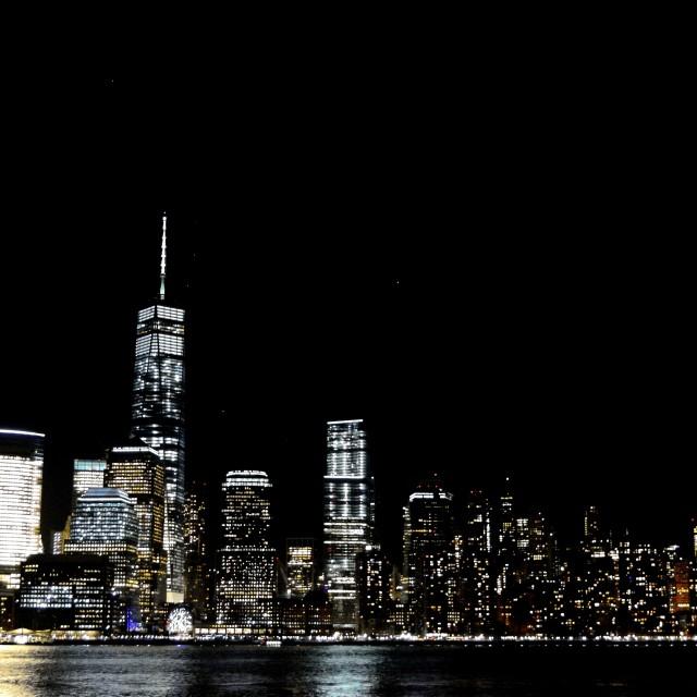 """NYC Downtown Skyline"" stock image"