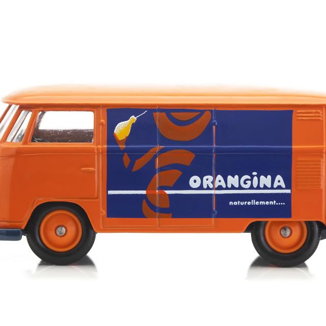 """Orangina Log"" stock image"