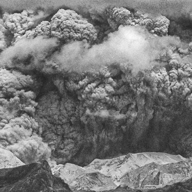 """Mount Pinatubo Eruption"" stock image"
