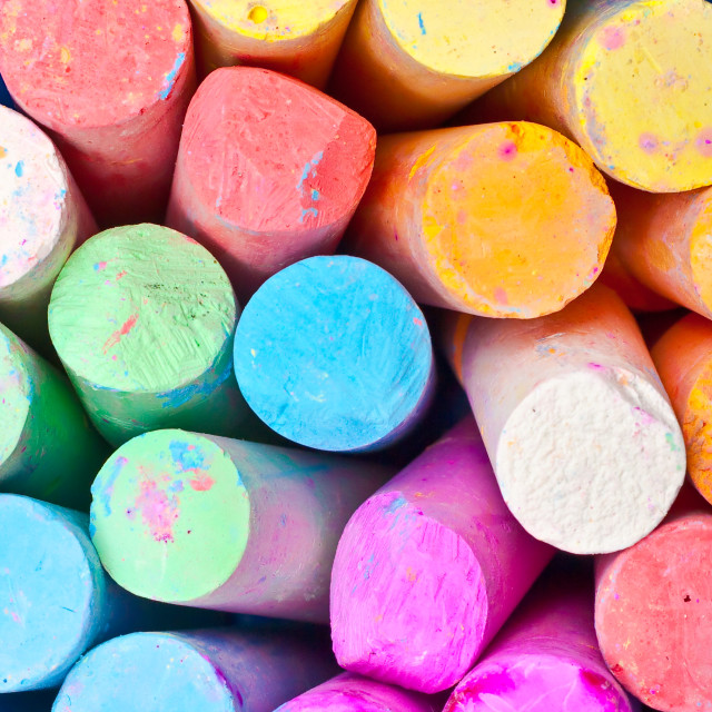 """Chalks"" stock image"
