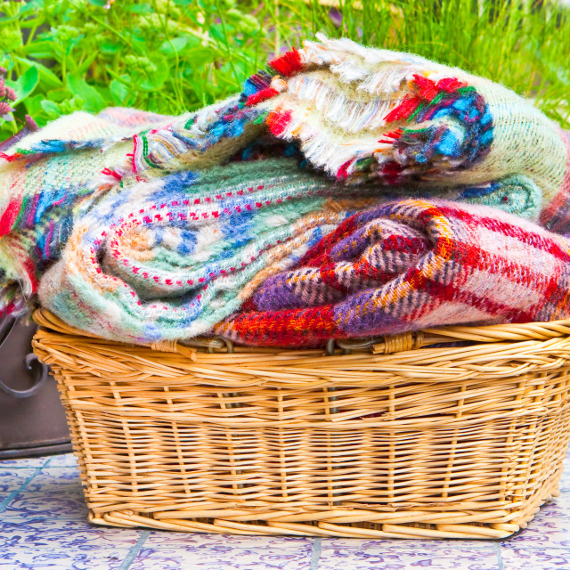 """Blankets"" stock image"