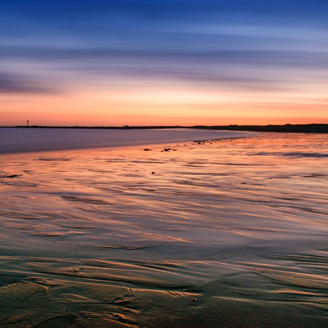 """""""205 second Sunset"""" stock image"""
