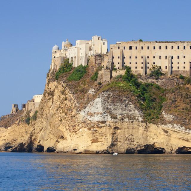"""Terra Murata, Procida Island, Italy"" stock image"