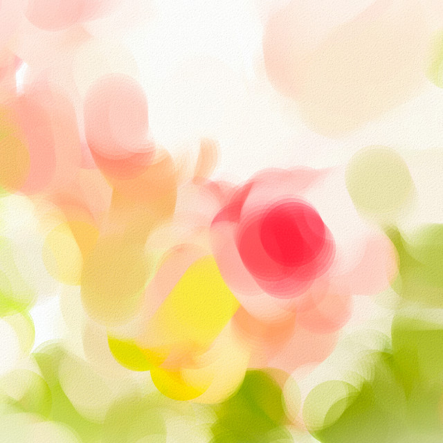 """Abstract roses"" stock image"