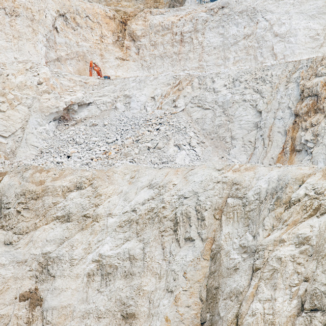 """croatia, istria - quarry"" stock image"