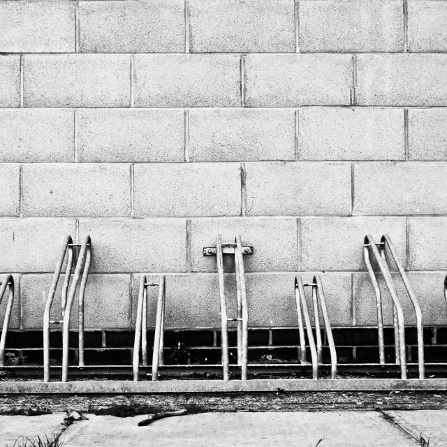 """""""Cycle racks"""" stock image"""