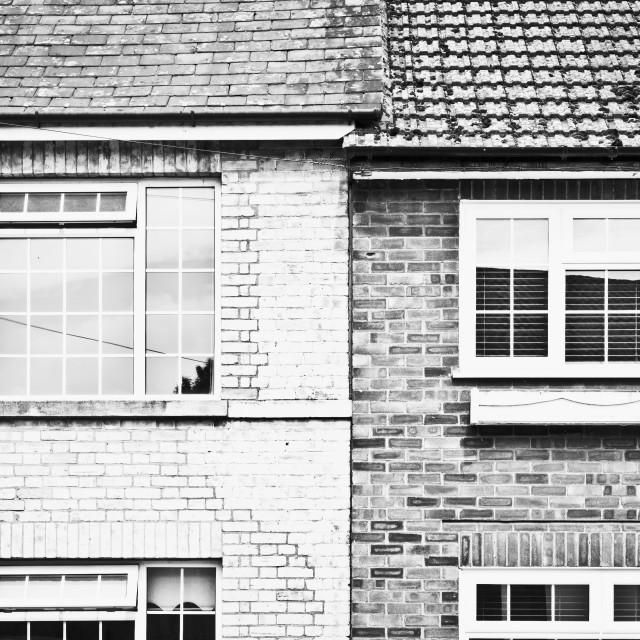 """PVC windows"" stock image"
