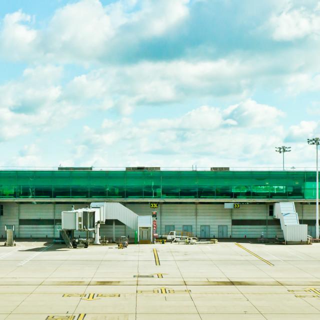 """Airport terminal"" stock image"