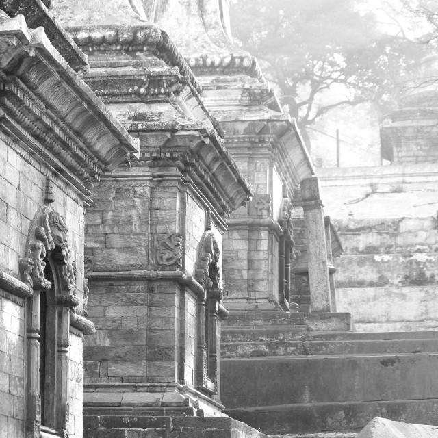"""""""Pashupatinath, Kathmandu"""" stock image"""