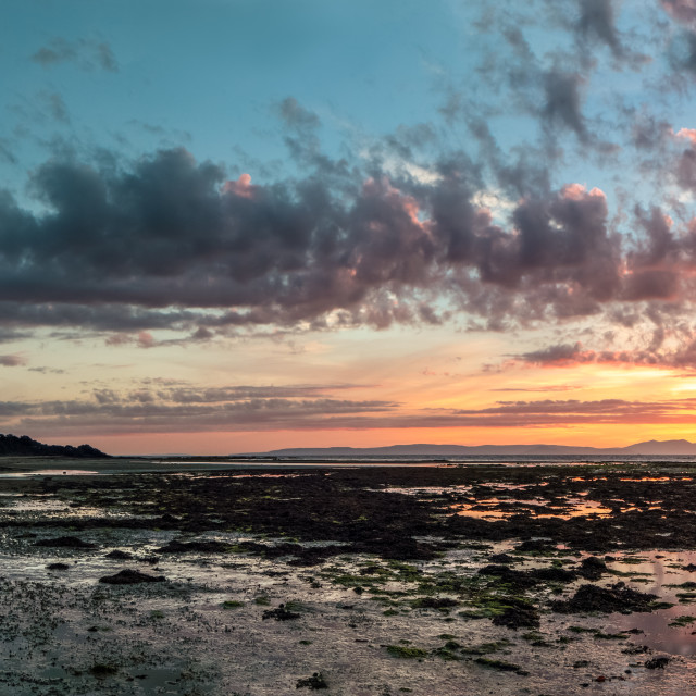 """Greenan Castle Sunset"" stock image"