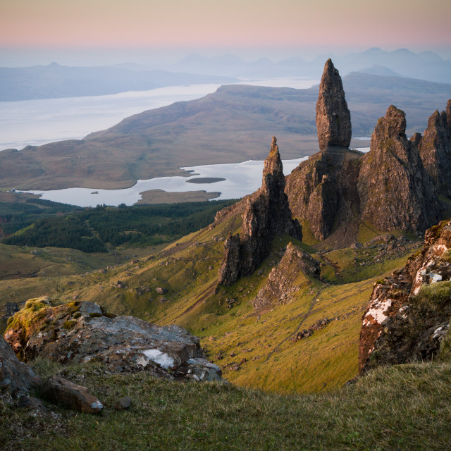 """Old Man of Storr at Sunrise"" stock image"